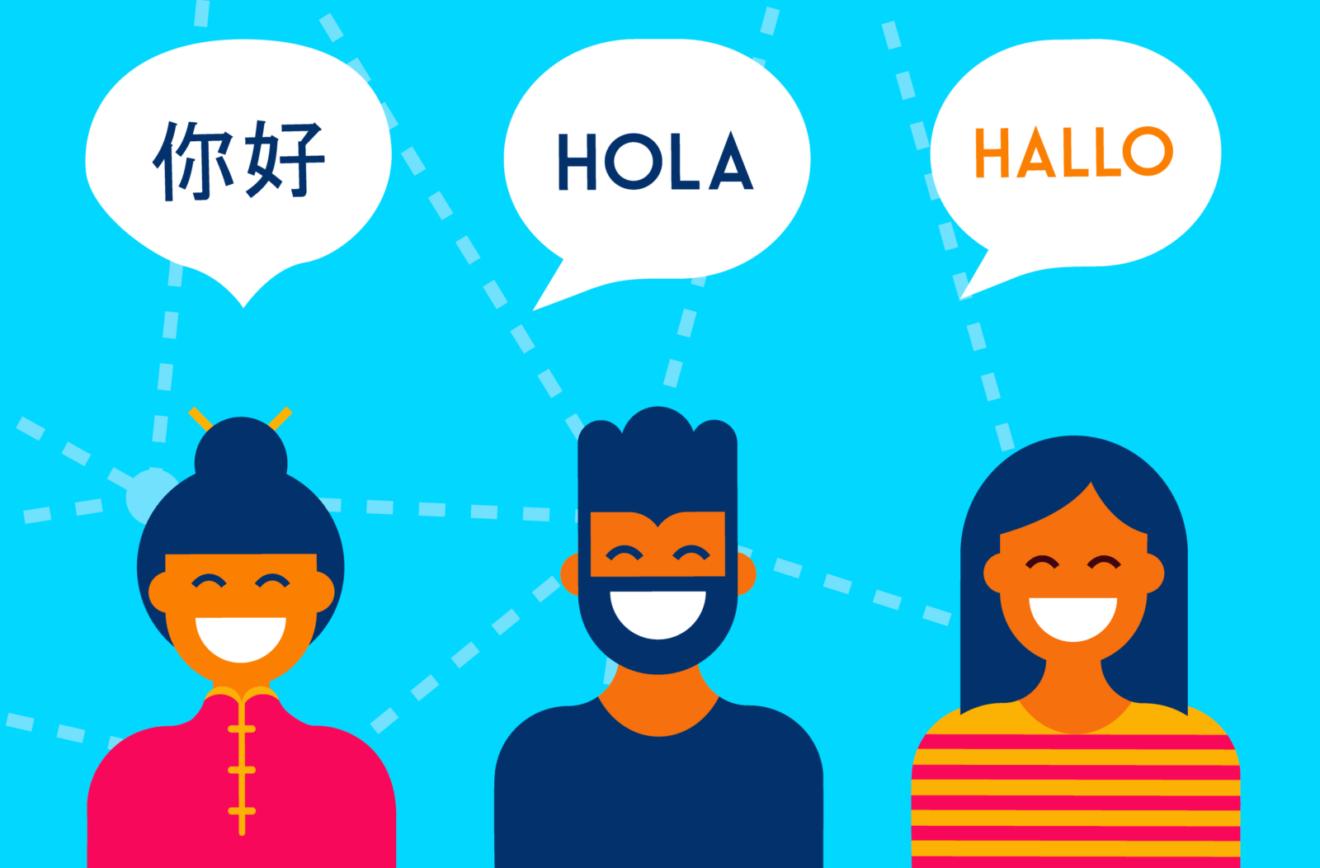 multi language support cam site