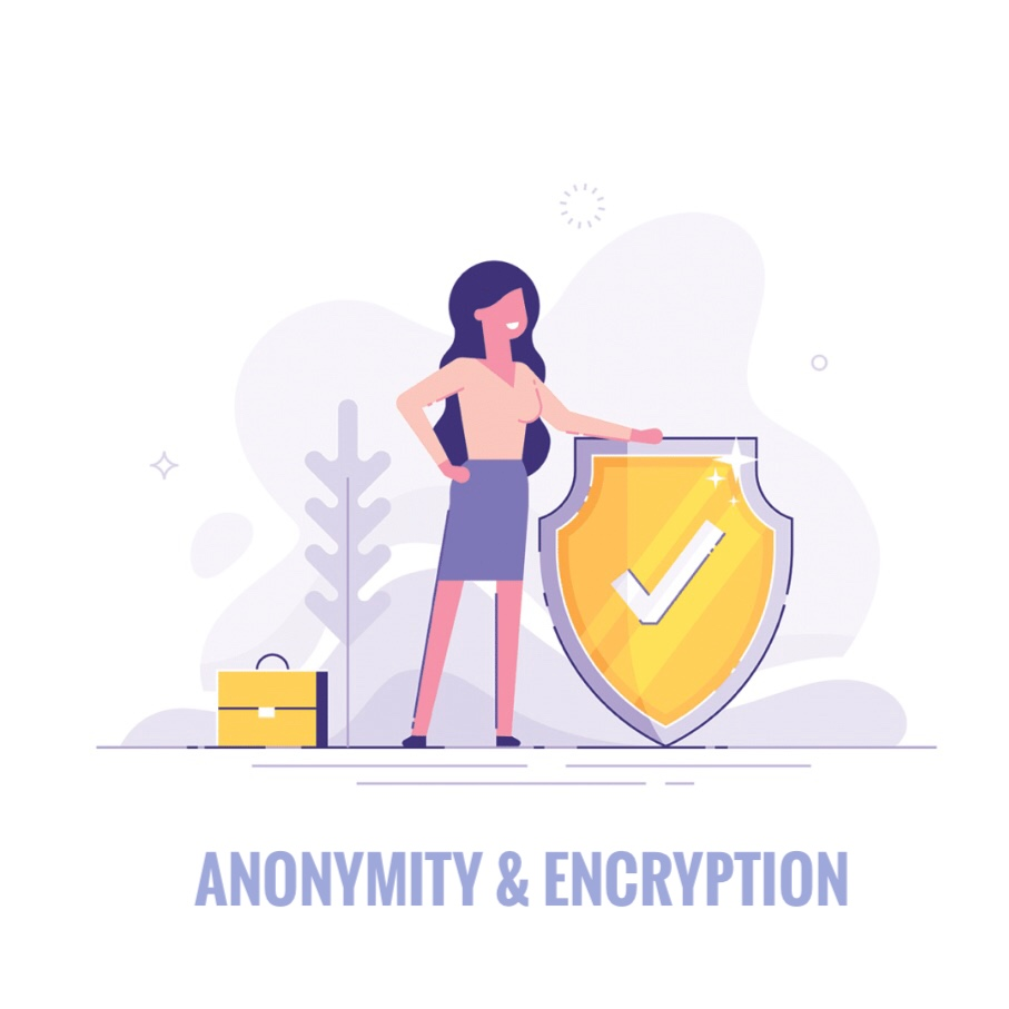 anonymity and encryption WebVideo