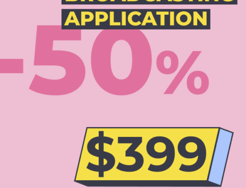 Webvideo is Ready to Announce Mobile Broadcasting Application Add-on: 50% off Pre-release Discount